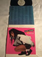 Donna Summer Vinyl LP Cats Without Claws 1984 Geffen Michael Omartian Not CD