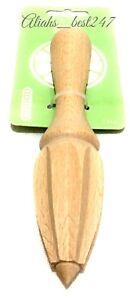 Beech Wood Lemon Reamer Juicer Squeezer Citrus Lemon Press Juice Extractor