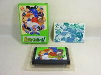 GANBARE PENANT RACE Famicom Nintendo Japan Boxed Game fc