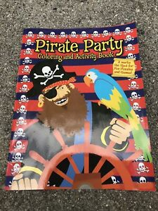 Pirate Party Coloring And Activiy Book Unused!