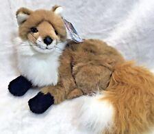 "Fiesta Toys 15""  Red Fox Plush Stuffed animal toy"