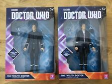 Doctor Who 2* 12th Hoodie black / checked trousers 5.5 inch figure set dalek