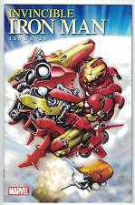 Invincible Iron Man #25 Tetsuya Aoki Manga Variant Marvel 2010