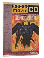 VERY RARE Vintage GENOCYBER - PC Sirius MovieCD (1 Disc) MotionPixels Anime