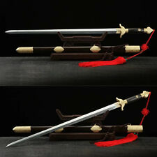 Handmade Folded Steel Blade Tradition Tai Chi Chinese Kung Fu Martial Art Sword