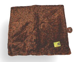 """HDP Thermal Cat/Dog Bed Mat SELF WARMING reflects own body heat Brown 22x18"""" NWT"""