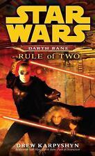 Star Wars Darth Bane Trilogy - Legends: Rule of Two 2 by Drew Karpyshyn (2008, …