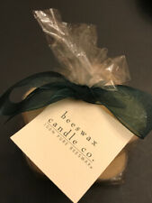 New Beeswax Candle Co. Lot Of 9 Tealight Candles 100% Pure Beeswax Gift