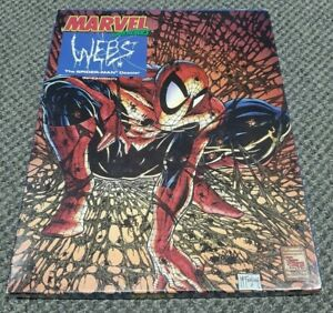 Marvel Super Heroes Role Playing - Webs The Spider-man Dossier - TSR