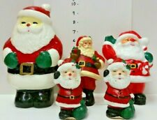Vintage Santa Christmas Candles (5)
