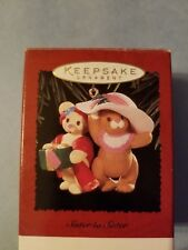 """Hallmark Keepsake Ornaments """"Sister to sister"""""""