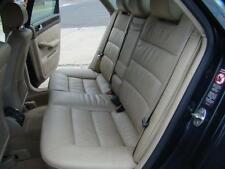 AUDI A6 LEFT HAND REAR SEAT BELT, TAN, C5, SEDAN, 01/02-10/04