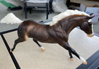 Breyer Horse Oddity! Black Beauty Model Brown Body White Mane And Tail
