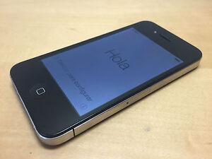 Used - Apple IPHONE 4 Black 32GB Free - Works