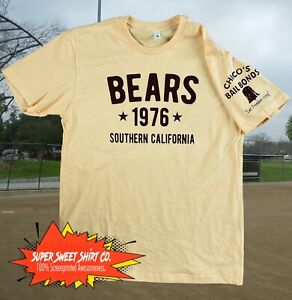Bad News Bears T-Shirt Classic Baseball California Great Gift for Boyfriend Dad