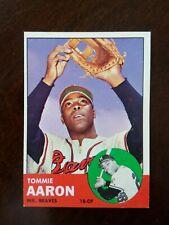 1963 Topps Tommie Aaron - Rookie Card #46 NM