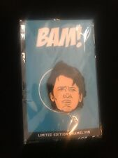 Marty McFly Back to the Future Fan Art Collectible Pin. Michael J Fox. Bam Box