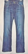 James Jeans Boot Cut Stretch Mid Rise Dark Blue Wash Hector size 27