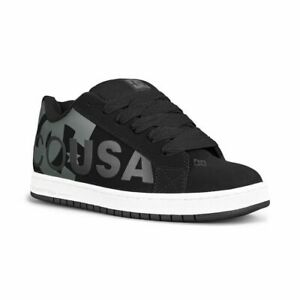 DC Men's Court Graffik SE BLACK/GREY Skate Shoes Trainers UK 8 EU 42