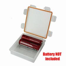Portable Hard Plastic Case storage box Holder Organizer for 18650/CR123A Battery