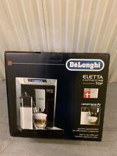 De'Longhi ESAM 45.766.B Eletta Cappuccino TOP Black Coffee Machine NEW