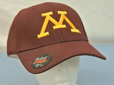 """UNIVERSITY OF MINNESOTA, GOPHERS, THE GAME PRO HAT, SIZE 7-3/8"""", NEW"""