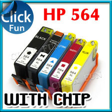5x Ink Cartridges For HP 564 XL Photosmart 3520 4620 5520 7520 6520 7510 Printer