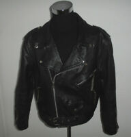 vintage JARVIS BOND Motorradjacke oldschool black motorcycle 80s jacket 48 M/L