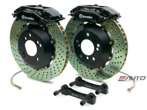 Brembo Rear GT Brake BBK 4piston Black 345x28 Drill BMW 525 528 530 540 M5 E39