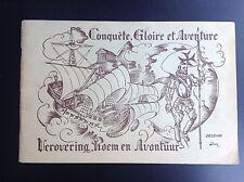 Rare album chromos Conquete Gloire Aventure complet