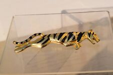 95mm long. Good condition. Panther Brooch. Large size.