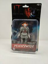"""IT Chapter Two Pennywise The Clown 5"""" Action Figure Horror Movie Toy W/Stand"""