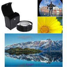67mm Close-up +1+2+4+10 Macro Lens Filter Kit for DSLR Camera