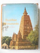 BUDDHIST MONUMENTS -FIGURES ARCHITECTURE STUPAS RARE BOOK INDIA 1971