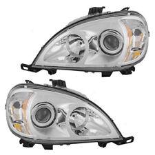 DYNAMAX GRAND SPORT 2010 2011 CHROME HEADLIGHTS HEAD LIGHTS LAMPS RV - SET