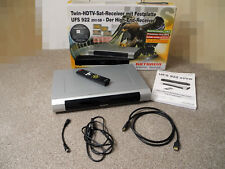 Kathrein UFS 922 silber Twin HDTV Sat Receiver mit Festplatte