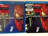 Spider-Man (Blu-ray Disc, 2012, Includes UltraViolet) w/ slipcover (NEW)