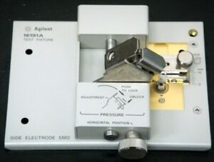 Agilent 16191A Side Electrode SMD Test Fixture