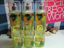 Bath and Body Works Lot of 3 ~Sparkling Limoncello ~  Fine Fragrance Mist  NEW