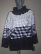 Alia Petite Navy Turtle Neck Sweater Top Sweatshirt Size PS/P