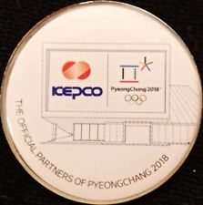 2018 PyeongChang ICEPCO Olympic Games Mark Sponsor Pin