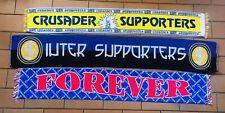Lotto 3 Sciarpe Calcio Ultras Parma Inter Cosenza Crusader Maglia Shirt Italia