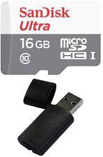 16GB Sandisk ULTRA MicroSDHC Memory Card for SAMSUNG GALAXY NOTE EDGE AVANT TAB