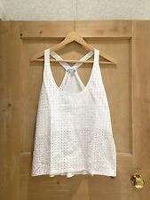 Cotton Geometric Sleeveless Tops & Shirts for Women