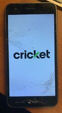 LG Fortune M153 - 16GB - Black (Cricket) Smartphone - Used - Works