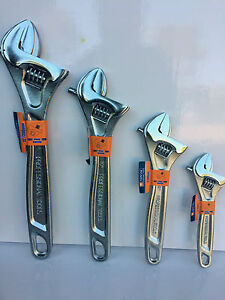 """4pc Wide Jaw Shifter Set. 6"""" + 8"""" + 10"""" + 12""""."""