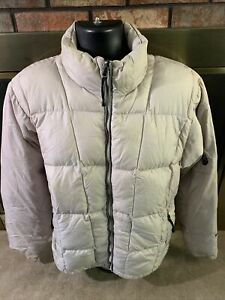 Vintage The North Face Goose Down 600 Puffer Puffy Coat Jacket Mens Large Beige
