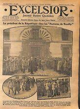 Président Poincaré Caserne de Reuilly Paris Gustave Mesureur Millerand WWI 1916