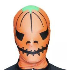 Morphsuits Premium Mask Pumpkin One Size Halloween Fancy Dress Scares BNWT