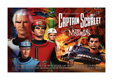 More details for captain scarlet and the mysterons a4 reproduction poster with choice of frame
